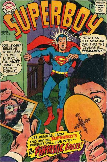 Superboy (1949) 145-A by DC