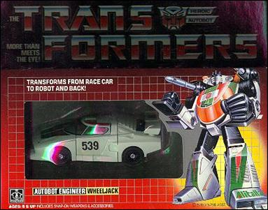 Transformers: More Than Meets the Eye (Generation 1) Wheeljack (Autobot Engineer) by Hasbro