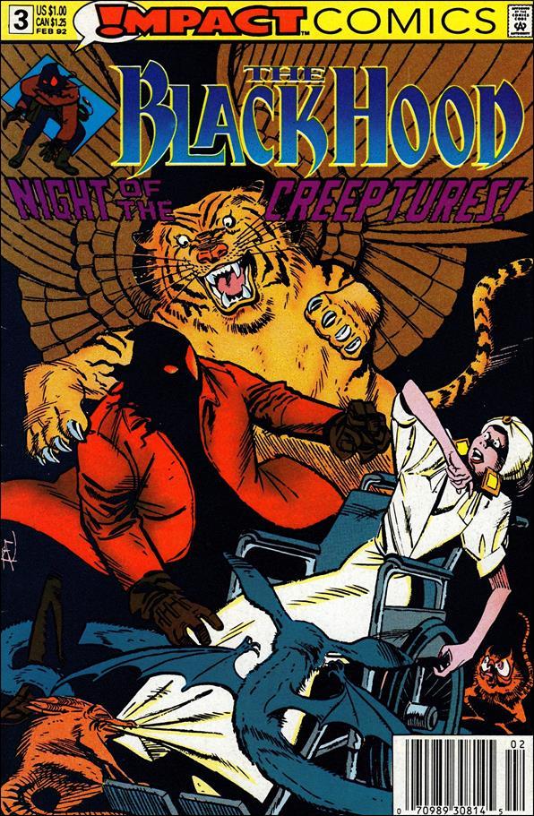 Black Hood (1991) 3-A by Impact Comics