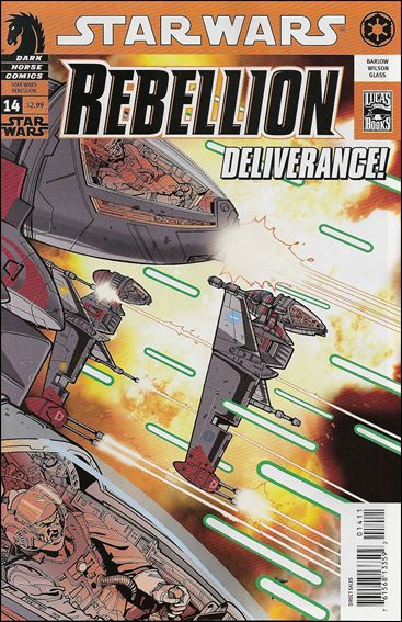 Star Wars: Rebellion 14-A by Dark Horse