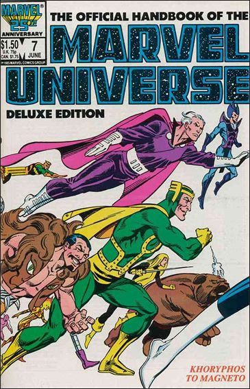 Official Handbook of the Marvel Universe (1985) 7-A by Marvel