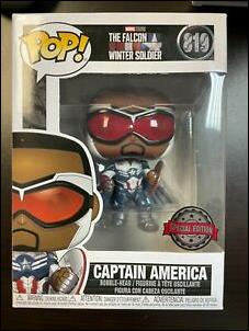 POP! Marvel Captain America by Funko