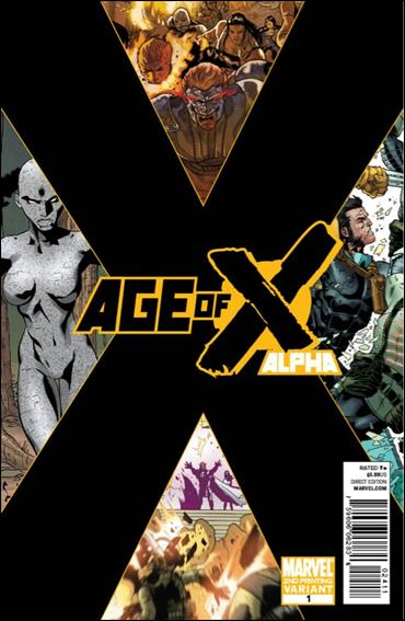 Age of X Alpha 1-C by Marvel