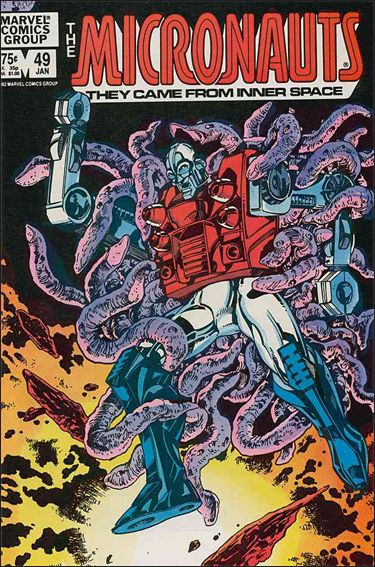 Micronauts (1979) 49-A by Marvel