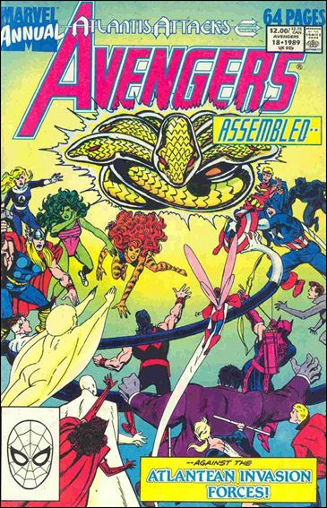 Avengers Annual (1967) 18-A by Marvel