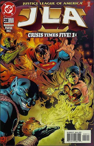JLA 28-A by DC