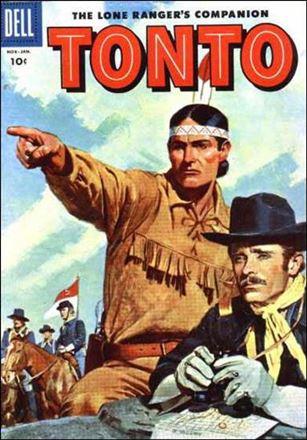 Lone Ranger's Companion Tonto 21-A