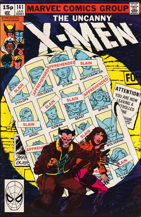 X-Men (1963) 141-B by Marvel