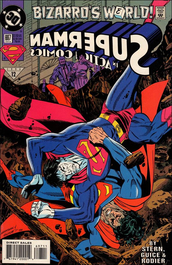 Action Comics (1938) 697-A by DC