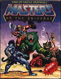 Masters of the Universe (1981) 1.4-G by Mattel