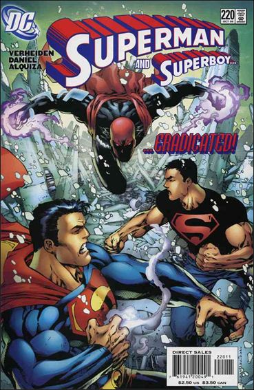 Superman (1987) 220-A by DC