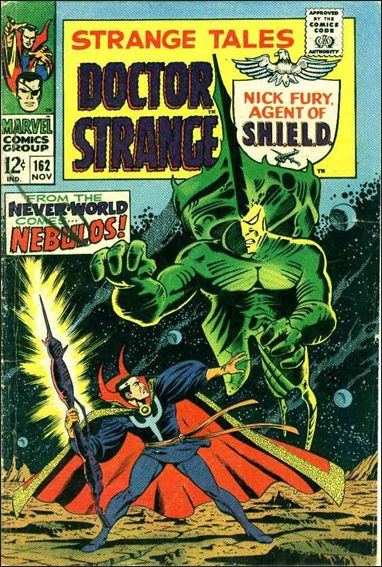 Strange Tales (1951) 162-A by Marvel