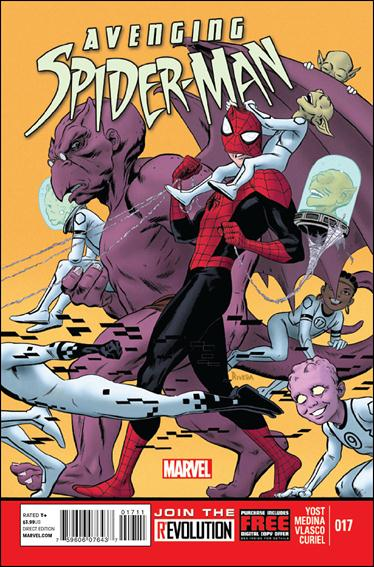 Avenging Spider-Man 17-A by Marvel