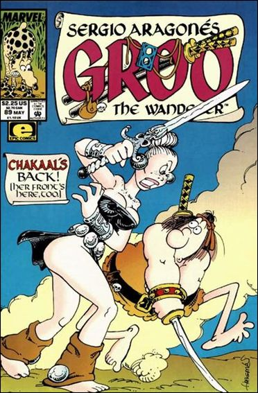 Sergio Aragones Groo the Wanderer 89-A by Epic