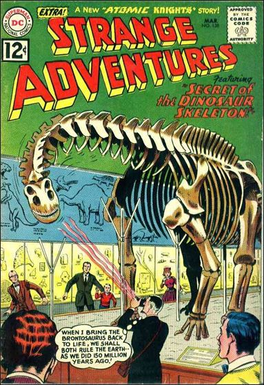 Strange Adventures (1950) 138-A by DC