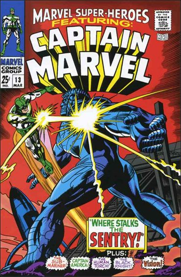 Marvel Super-Heroes (1967) 13-A by Marvel