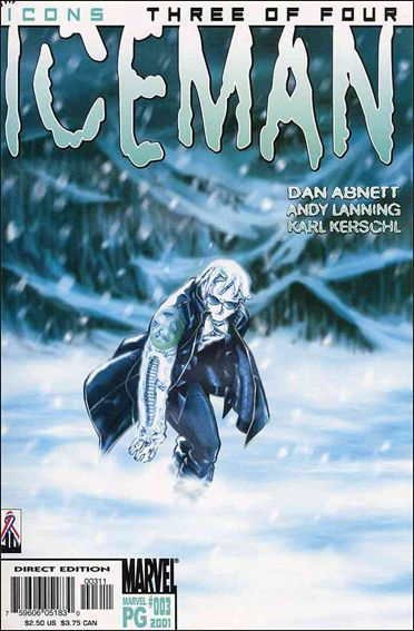 Iceman (2001) 3-A by Marvel