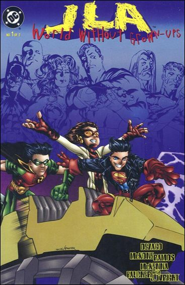 JLA: World Without Grown-Ups 1-A by DC