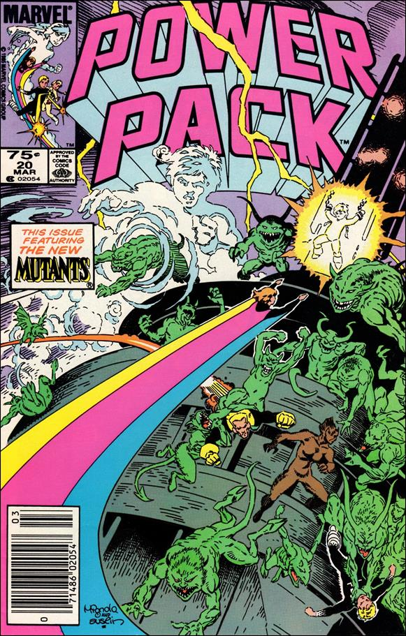 Power Pack (1984) 20-A by Marvel