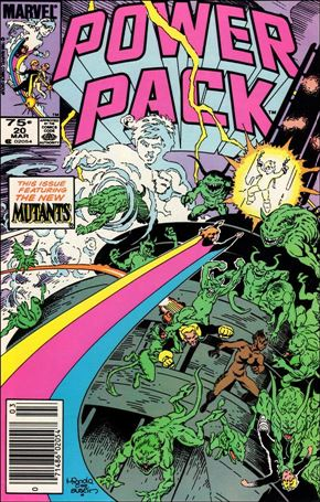 Power Pack (1984) 20-A