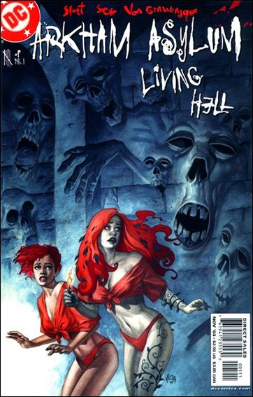 Arkham Asylum: Living Hell 5-A by DC