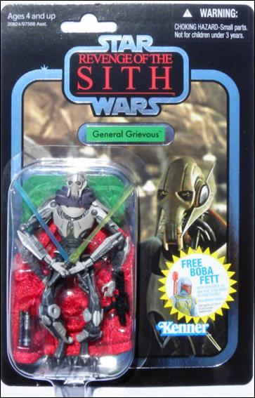 Star Wars General Grievous Toys : Star wars vintage collection general grievous