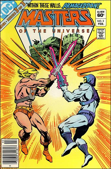 Masters of the Universe (1982) 3-A by DC