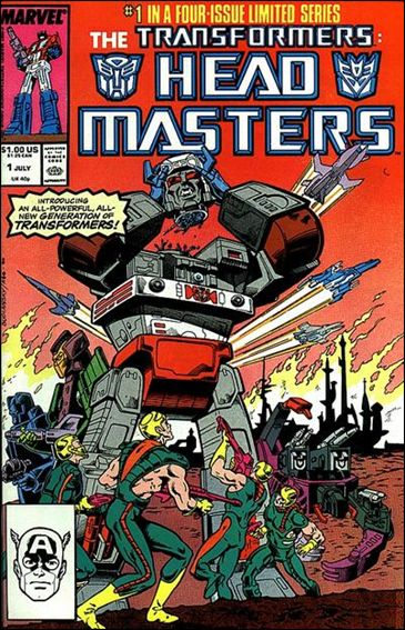 Transformers: Headmasters 1-A by Marvel