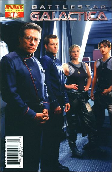 Battlestar Galactica (2006) 1-D by Dynamite Entertainment