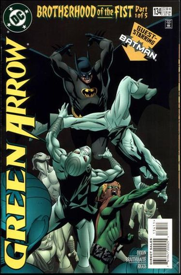 Green Arrow (1988) 134-A by DC