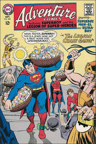 Adventure Comics (1938) 360-A by DC