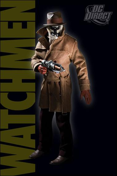 Watchmen Movie (1:6 Scale) Deluxe Collector Figures Rorschach by DC Direct