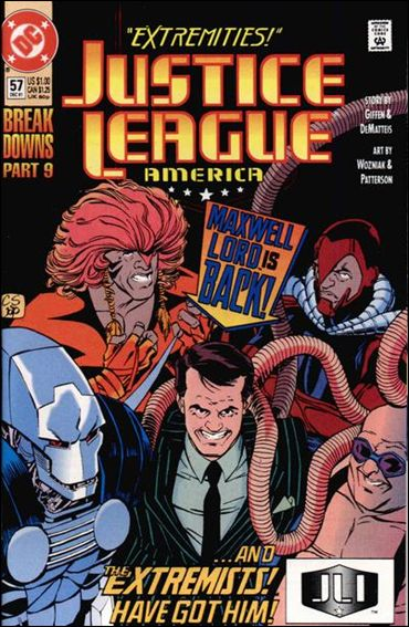 Justice League America 57-A by DC