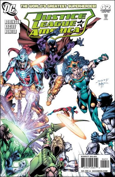 Justice League of America (2006) 42-A by DC