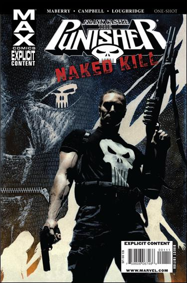 Punisher Max: Naked Kill 1-A by Max