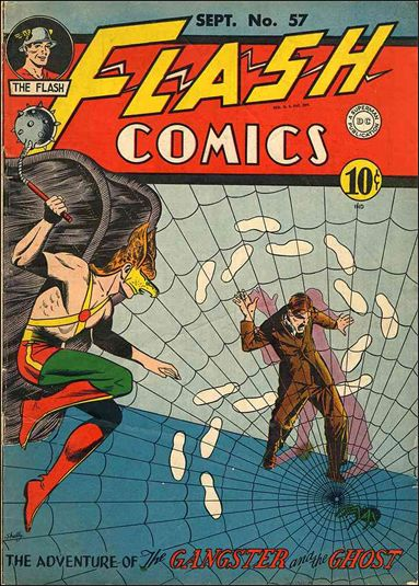 Flash Comics (1939) 57-A by DC