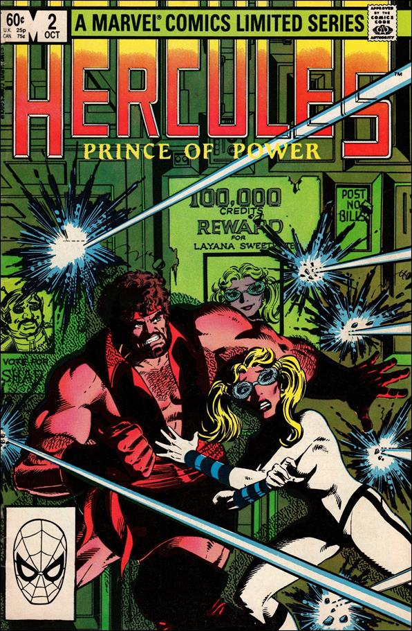 Hercules (1982) 2-A by Marvel
