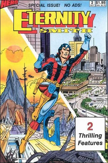 Eternity Smith (1987) 2-A by Hero Comics