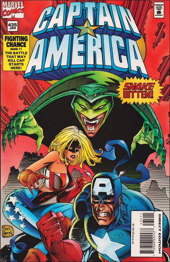 Captain America (1968) 435-A by Marvel