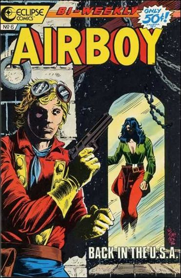 Airboy (1986) 6-A by Eclipse
