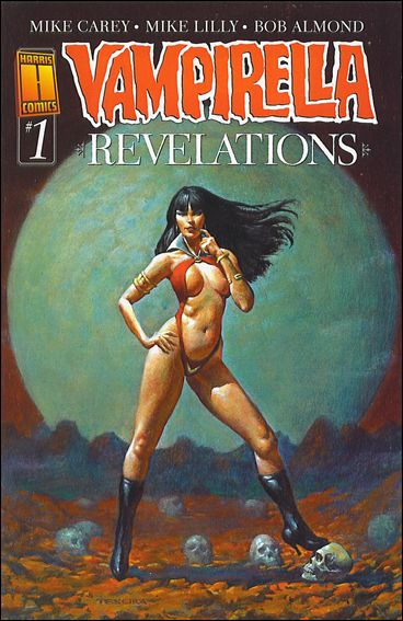 Vampirella Revelations 1-B by Harris