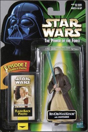 "Star Wars: The Power of the Force 2 3 3/4"" Basic Action Figures Ben (Obi-Wan) Kenobi w/ Flashback Card"