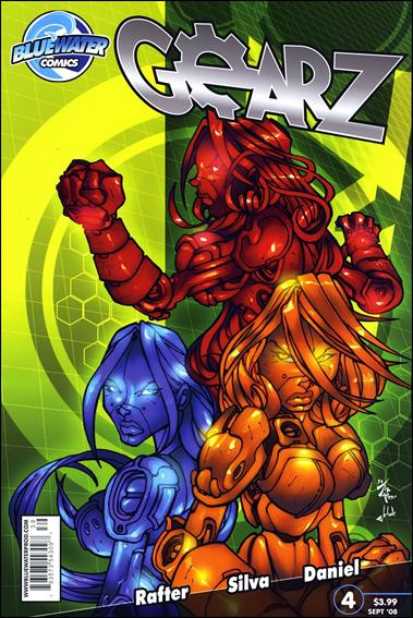 Gearz 4-A by Bluewater Comics