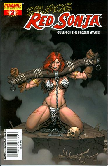 Savage Red Sonja: Queen of the Frozen Wastes 2-A by Dynamite Entertainment