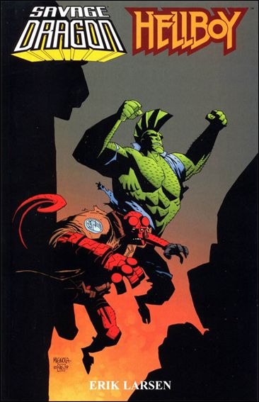 Savage Dragon/Hellboy 1-A by Image