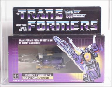 Transformers: More Than Meets the Eye (Generation 1) Shrapnel (Insecticon) by Hasbro