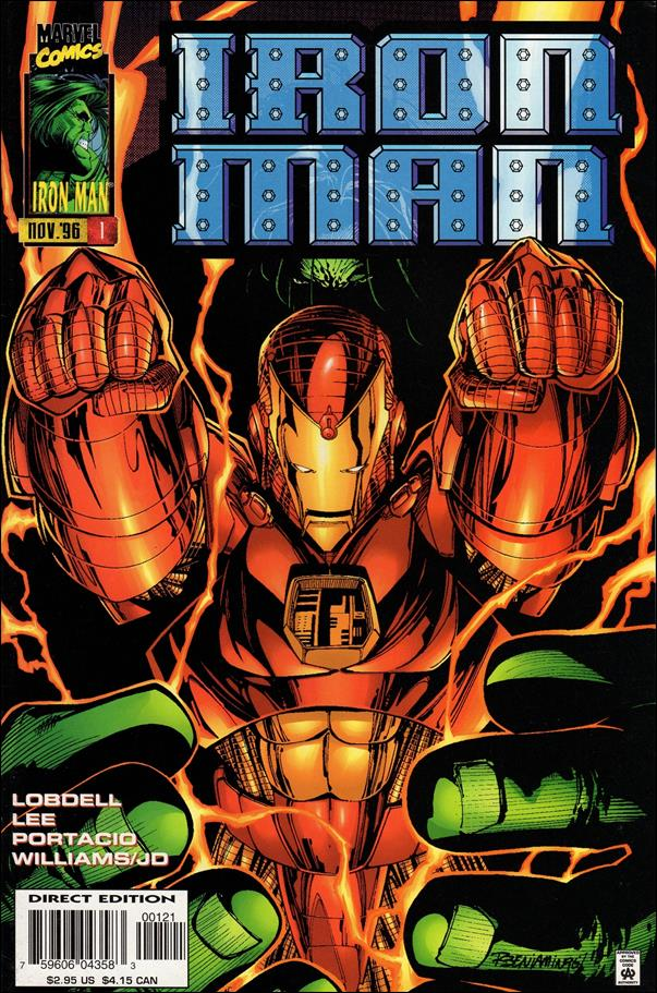 Iron Man (1996) 1-B by Marvel