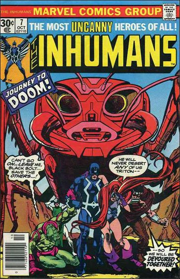 Inhumans (1975) 7-A by Marvel