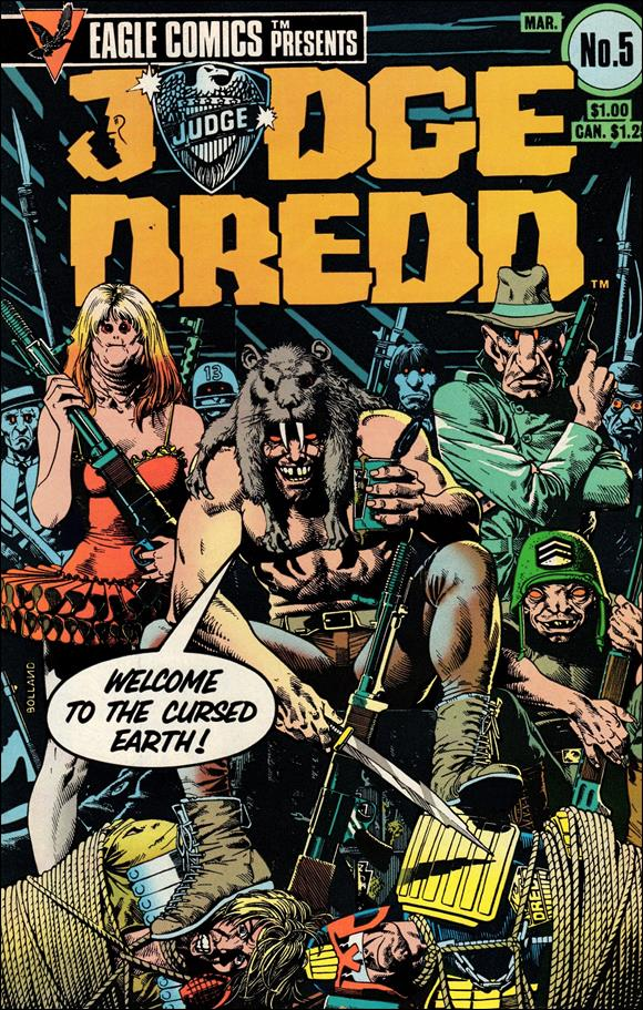 Judge Dredd (1983) 5-A by Eagle Comics
