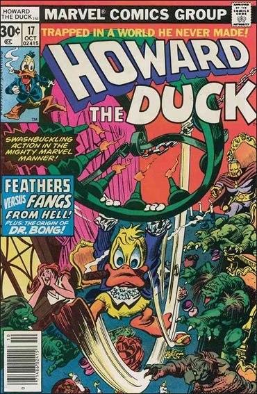 Howard the Duck (1976) 17-A by Marvel